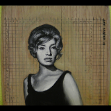 Goddess of Existential Malaise, 8.2×7″, 2015