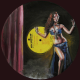 The Joy of Belly Dancing, 12×12″, 2015 (SOLD)