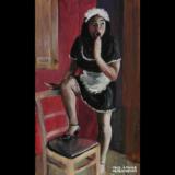 Pandora Blushes, 12×20″, 2016