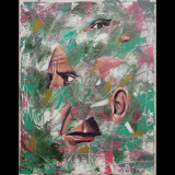 Picasso's Lonely Journey to the Fifth Dimension, 11×14, 2016 (with Neil Kesterson)